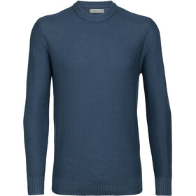Icebreaker Waypoint Crew Sweater Men prussian blue
